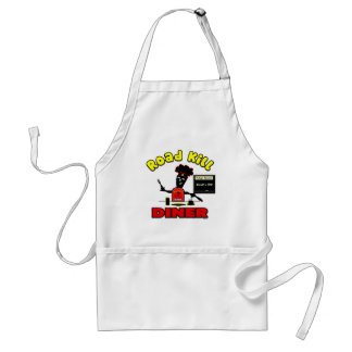 Road Kill Diner Gifts and Apparel Adult Apron