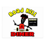 Road Kill Diner Gifts and Apparel Postcard