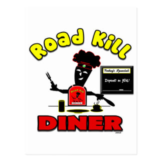 Road Kill Diner Gifts and Apparel Post Cards