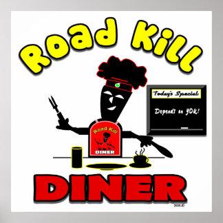 Road Kill Diner Poster