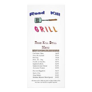 Road Kill Grill Full Color Rack Card