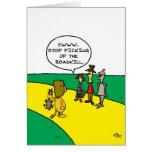Road Kill in Oz Greeting Card