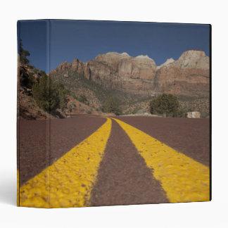 Road-kill viewpoint 3 ring binder