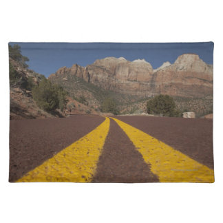 Road-kill viewpoint cloth placemat