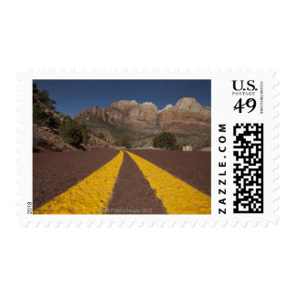 Road-kill viewpoint postage stamp