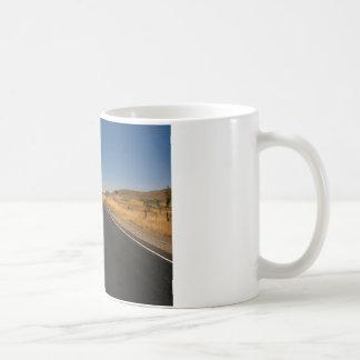 Road - Long Highway Coffee Mugs
