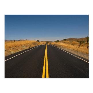 Road - Long Highway Postcard