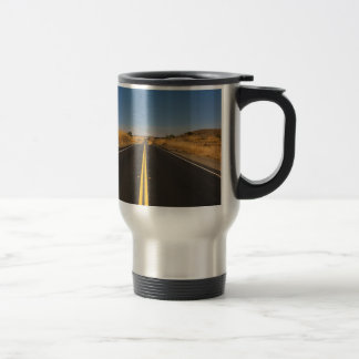 Road - Long Highway Travel Mug
