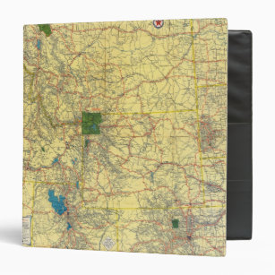 Personalize Your Own Wyoming Map Binder - Stay Organized Today! | Zazzle