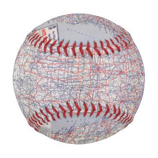 Road map United States Baseballs