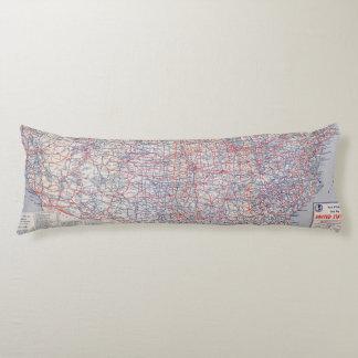 United States Map Pillows Decorative Throw Pillows Zazzle