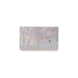 Road map United States Business Card Holder