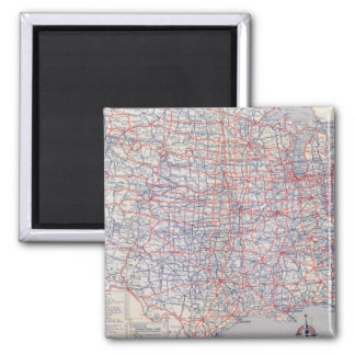 Road map United States Magnet