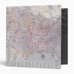 Road map United States Vinyl Binders