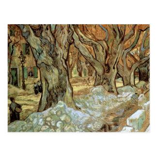 Road Menders, Vincent van Gogh Fine Art Postcard