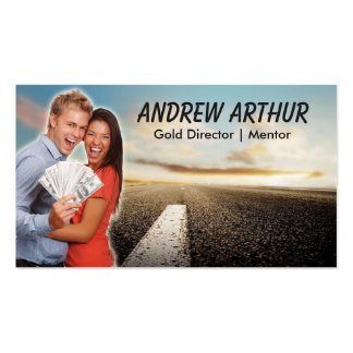 Road Money Excitement Business Card