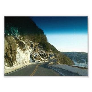 Road of Caution 7 x5 Photographic Print