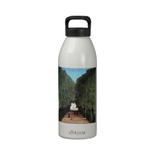 Road of sun clue park reusable water bottle