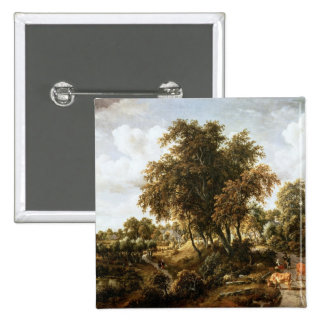 Road on the Dyke Pinback Button