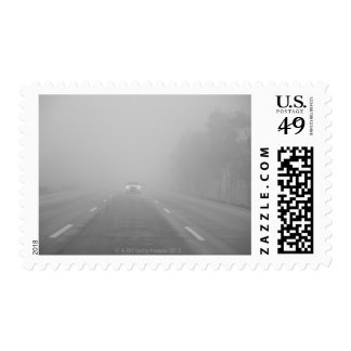 Road outside Mexico City Postage