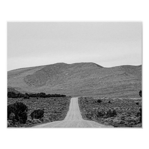 Road Outta Town // Black and White Scenery