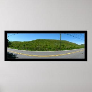 Road Panorama Poster