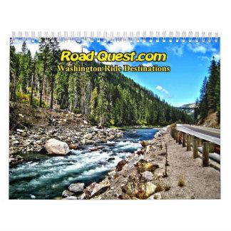 Road-Quest.com - 2009 HDR Washington Ride Calendar