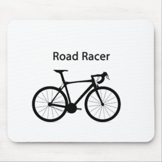 Road racer mouse pad
