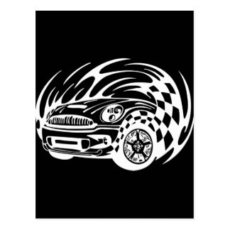 Road Racer Postcard