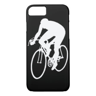 """""""Road racing cyclist"""" iPhone 7 Case"""