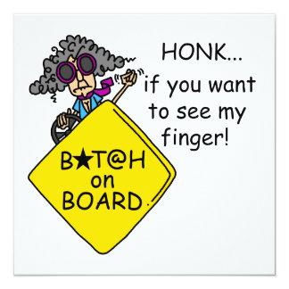 Road Rage Humor Card