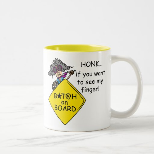 Road Rage Humor Coffee Mugs