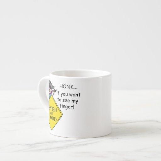 Road Rage Humor Espresso Mugs
