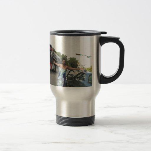 Road Rage Lady Meme Coffee Mug