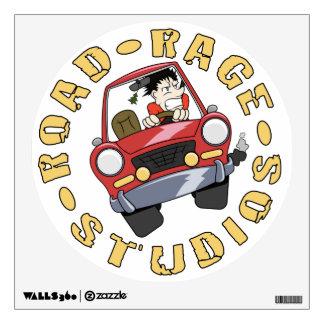 Road Rage Studios - Round Decal