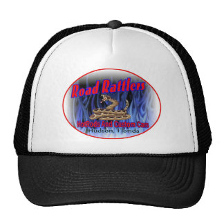 road rattlers club logo3 trucker hat