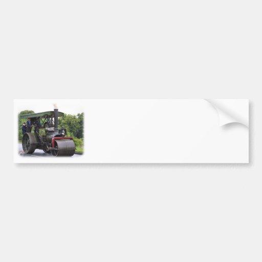 Road Roller Ayesha 9R072D-161 Car Bumper Sticker