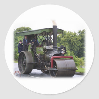 Road Roller Ayesha 9R072D-161 Classic Round Sticker