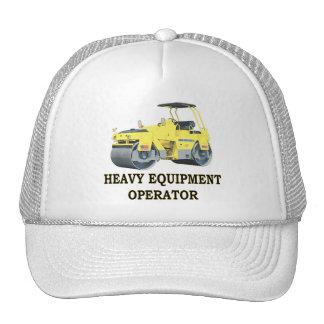 ROAD ROLLER TRUCKER HATS