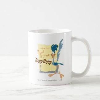 ROAD RUNNER™ Beep, Beep Classic White Coffee Mug