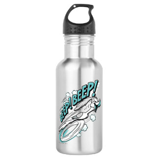 "ROAD RUNNER™ ""BEEP BEEP!"" Halftone Stainless Steel Water Bottle"