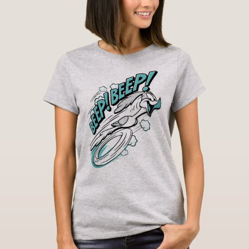 ROAD RUNNERâ BEEP BEEPâ Halftone T_Shirt
