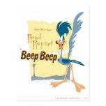 Road Runner Beep, Beep Post Card