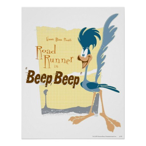 Road Runner Beep, Beep Print