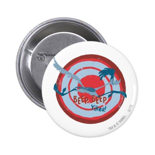 ROAD RUNNER™ Beep Beep Yikes! Pinback Button