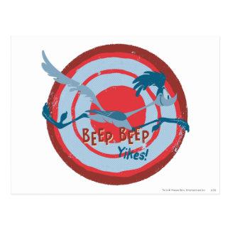 ROAD RUNNER™ Beep Beep Yikes! Postcard