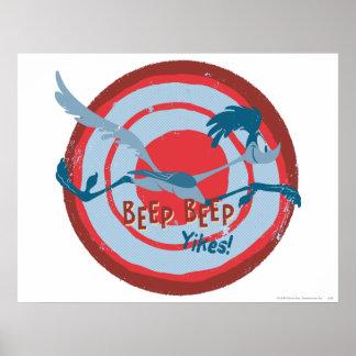 ROAD RUNNER™ Beep Beep Yikes! Poster
