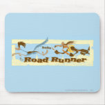 Road Runner Chased By Wile E. Coyote Mouse Pads