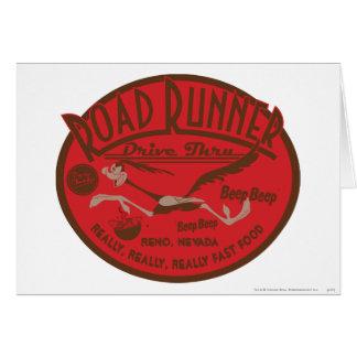 ROAD RUNNER™ Drive Thru 2 Card