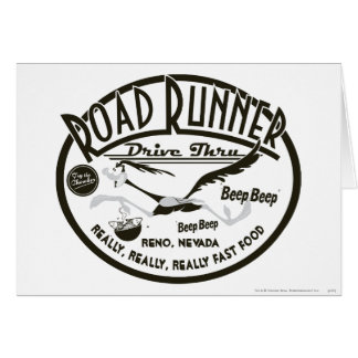 ROAD RUNNER™ Drive Thru Cards